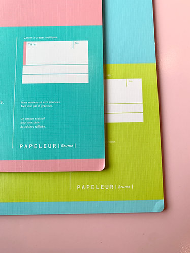 Two-Toned Notebook