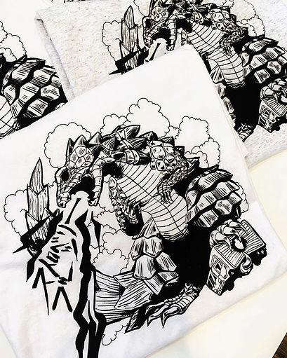 The Armazilla T-shirt's are HERE!!!!! Mo