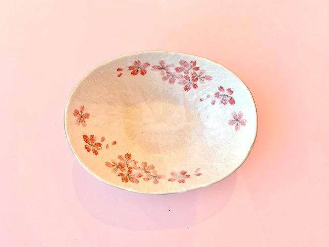Oval Sakura Bowl