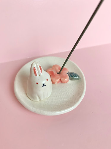 Rabbit Incense Holder