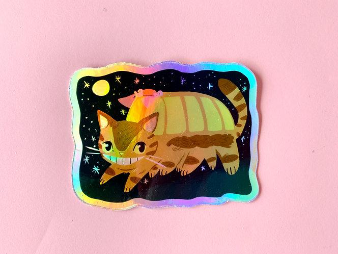 Neko (Cat) Bus Sticker