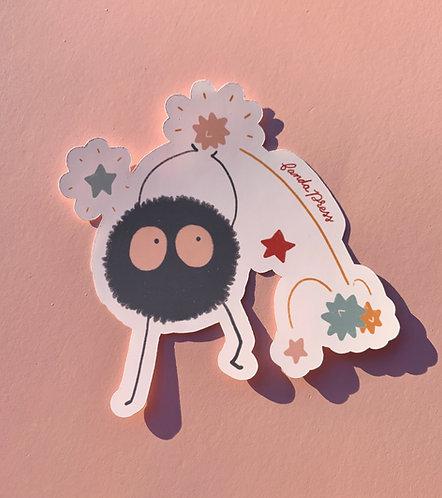 Makkuro Kurosuke Sticker