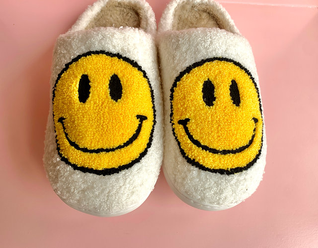 Happy Face Slippers