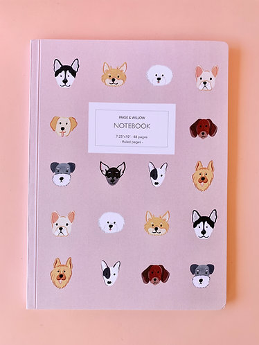 Cat and Dog Large Notebooks