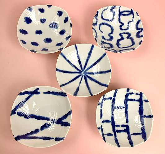 Patterned Small Dishes