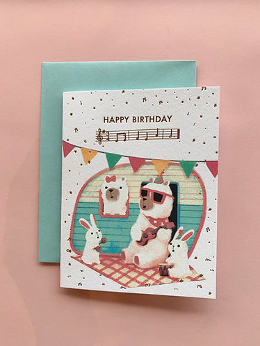Instrument Animal Cards
