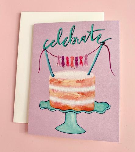 """Cake """"Celebrate"""" Cards"""