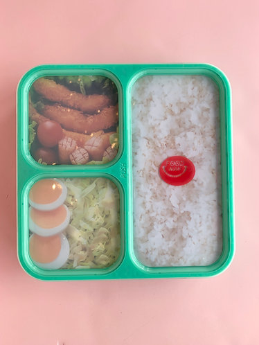 Mint Green Thin Bento