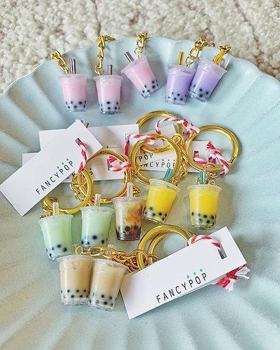 Bubble Tea Key Chains