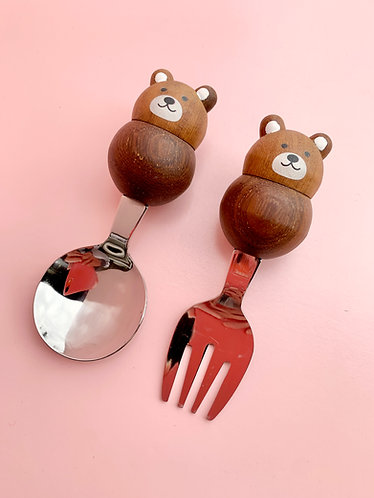 Plumpy Fork and Spoon Set
