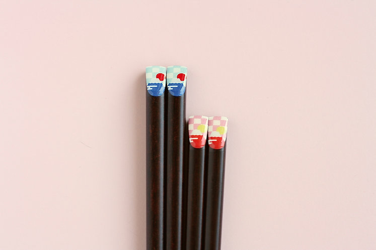 Mount Fuji His/Hers Chopsticks