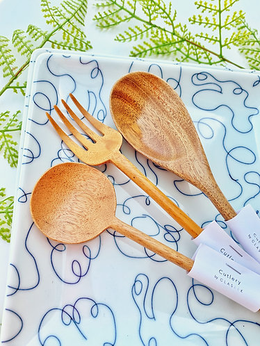 Wooden Utensils (Claseek Cutlery)
