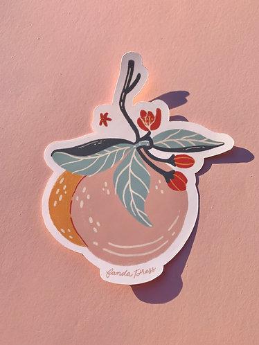 Peachtober Orchard Sticker