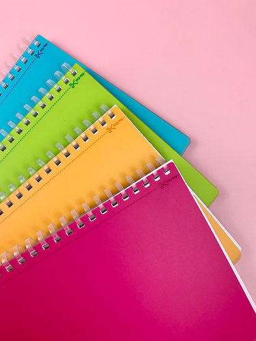 Soft Coil Notebook (B6,A5,B6)