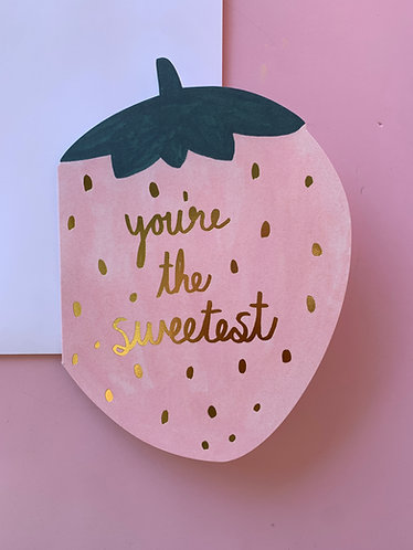 """""""You're The Sweetest"""" Card Box (8pc)"""