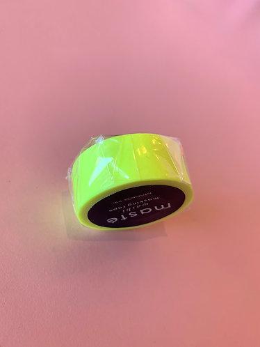 Yellow Neon Washi Tape