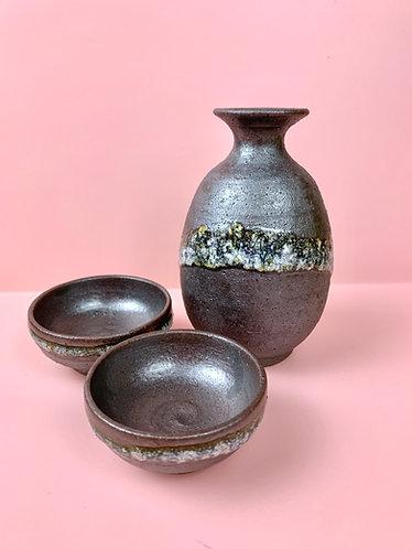 Black Sake Set