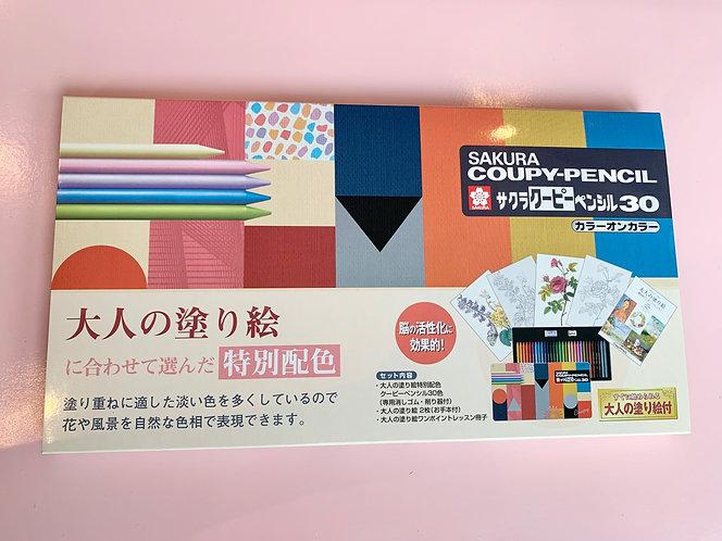 Sakura Coupy Pencil Set