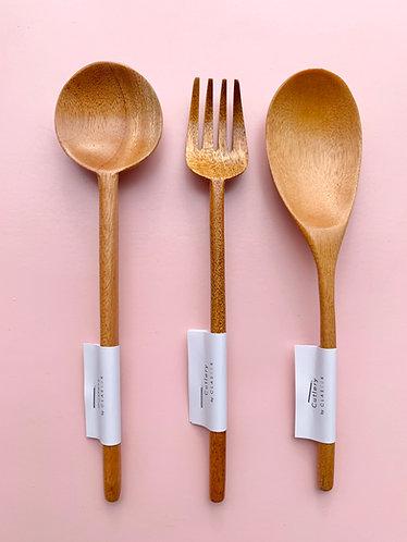 Wooden Utensils (Claseek Cutlery)
