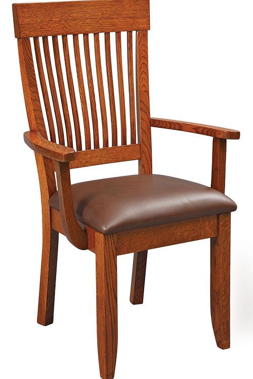 Superior Mission Ten Slat Arm Chair