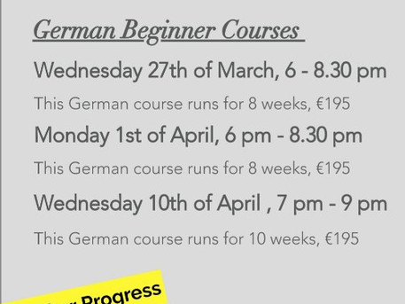German Courses in Dublin