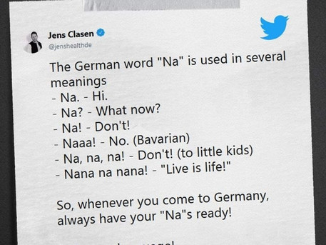 German joke of the day