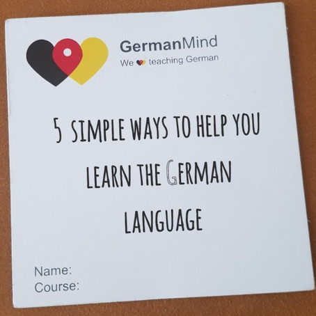 5 simple ways to help you learn the German language