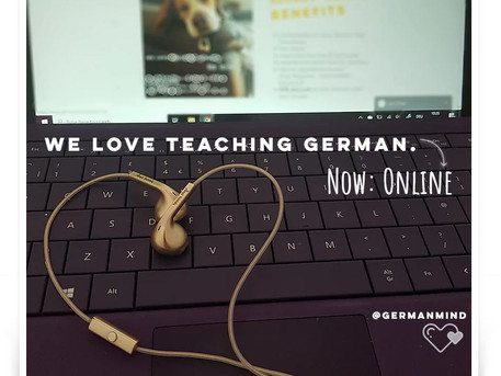 Online German Course starting soon!