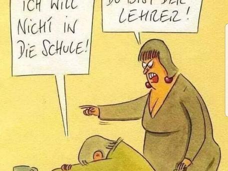 We love teaching German