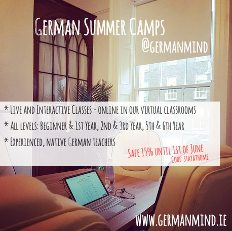 German Summer Camps 2020 - See you soon! And online!