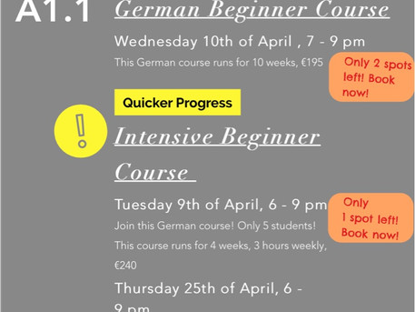 Learn German in our German Beginner Courses in Dublin