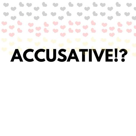 Accusative Case. Let's learn more German grammar!