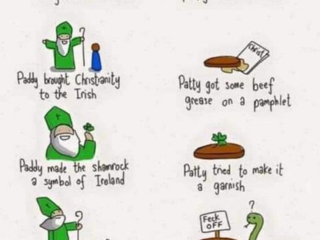 Learn German after St. Patrick's Day.