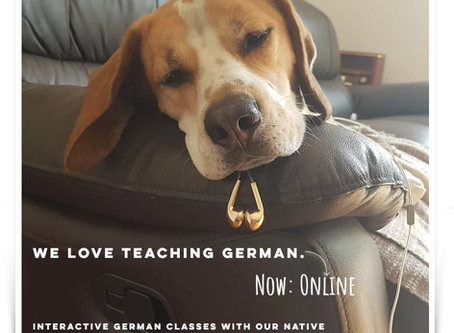 Stay at home & learn German online!