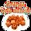 mixed pile labeled orange dice bundle