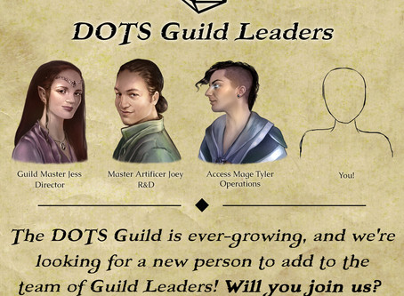 The DOTS Guild is Growing!