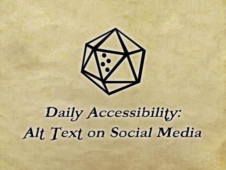 Daily Accessibility: Alt Text on Social Media