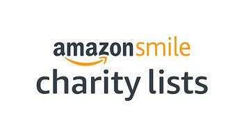 Amazon smile charity list logo.