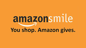 Amazon smile logo with text you shop. amazon gives.