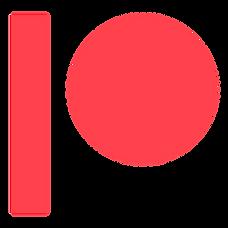 Patreon logo.
