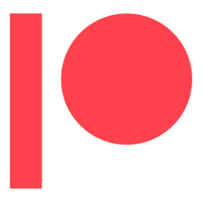 Patreon logo.