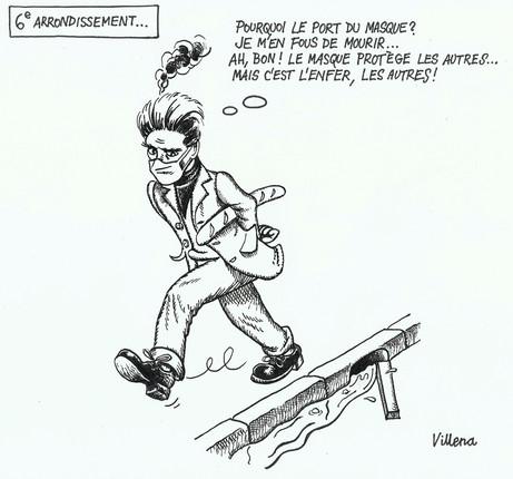 """""""Sixième arrondissement"""",  2020"""
