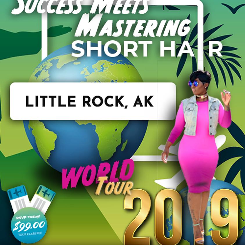 Success Meets Mastering Short Hair - Little Rock