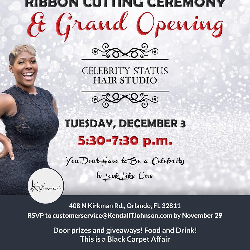 Ribbon Cutting Celebrity Status Hair Studio