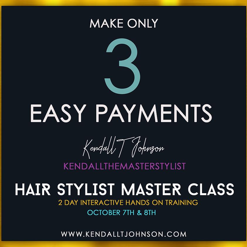 Master Class Payment Plan