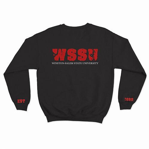 """Signature """"WSSU"""" EST Sweatshirt"""