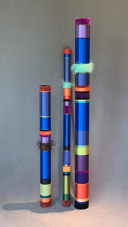 Quiet Oboes in Cobalt Blue