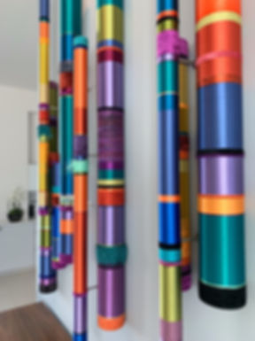 Quiet Oboes, multi colored in Bassoon, Baritone and Tenor diameters