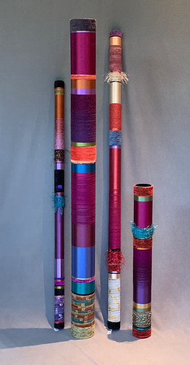 Quiet Oboes in various shades of Plum