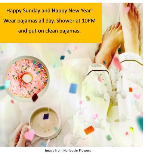 Happy Sunday and Happy New Year